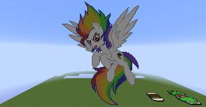 Super Rainbow Dash by 01MinecraftFan