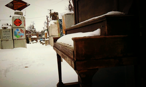 winter piano by Ayula