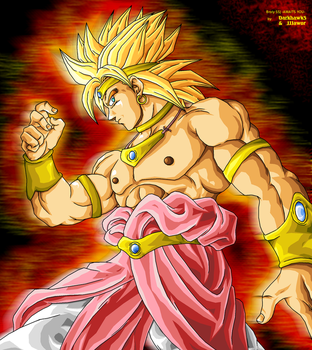 Broly SSJ -AWAITS YOU- by Darkhawk5 by JJJawor