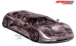 Completely Forgotten Supercar by toyonda