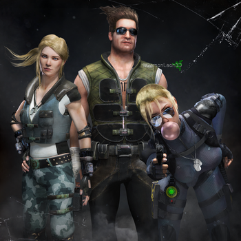 Cage family by DemonLeon3D