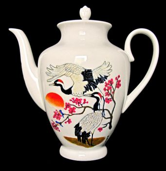 Teapot cranes by Wolverica
