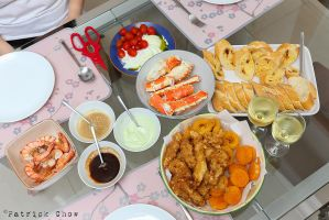 Seafood dinner 2 by patchow