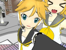 Have You Seen Rin?--Len and Rin Kagamine by OtakuFestivities