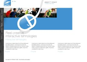 Web Design for IT company by gatisatmixlv