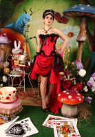 Pin Up Queen of Hearts 2 by ThePrincessNightmare