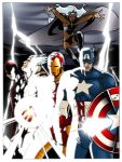 avengers dream team by AlexDeB