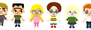 TDORTI sprites by kitty11123