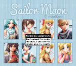 Sailor Moon-Render Pack #19 by CoralineGFX
