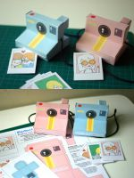 Perfect Paper Polaroid Camera by perfectnoseclub