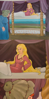 The princess and the pea by elen89