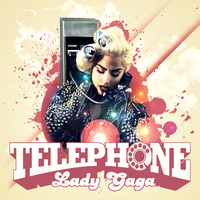 Lady GaGa feat Beyonce - Telephone CD Cover by GaGanthony