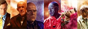 Breaking Bad characters collection by p1xer