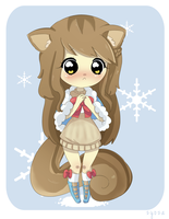 CM: Winter Squirrel by megiemu