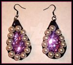Pearl Drop Earrings by FashionFreak25