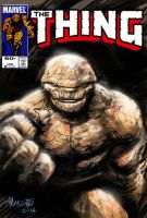 Thing cover mock up for fun. by gammaknight