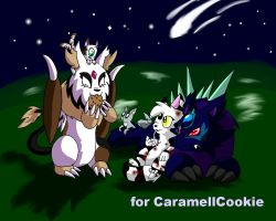 Contest: Animalparty at night~ by Birdon14