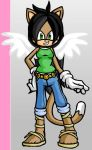 Sonic Style WhiteWingz777 by Papa-T-41