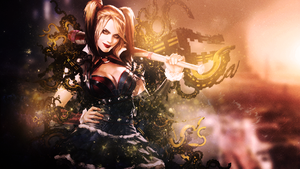 Harley quin sig by JorgerFX