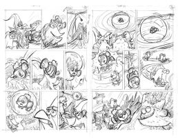 Finding Nemo, pgs 5 and 6 by tombancroft