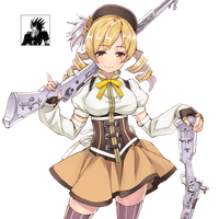Mami Tomoe Render by satanoderrock