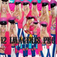 Nicki Minaj Pack Png.- by LovebySelena