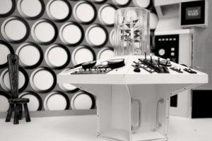 Mind Robber Console Room by Malcolmorr