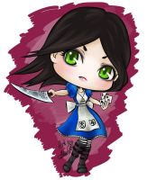 Alice Madness Returns Chibi Style by HarukArt