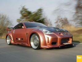 nissan 350Z by Heavymedicated