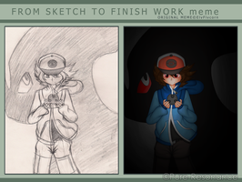 Meme: Sketch to Finish by Pure-Resonance