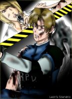Leon S Kennedy Scenario by BloodyQueenClaire
