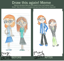 Draw This Again Meme by epicpenguin145