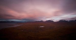 Abisko afterglow by CalleHoglund