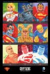'Superman: The Legend' sketch cards 02 by DeJarnette