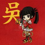 Dynasty Warriors 8 - Da Qiao by Momoko122