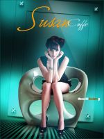 Susan Coffe Simple Poster by mnoso90