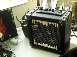 Matatron - A Guitar Amp WIP2 by Infernomonster