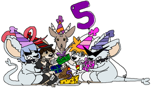 Spins 5th Birthday Gathering by Jawrdayn