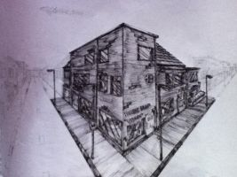:: Two point perspective :: by Videogamescool