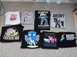 Pony Shirts by Loaded--Dice