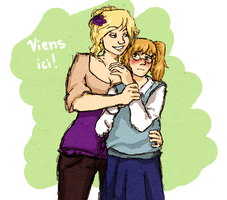 viens ici by frecklesmelody
