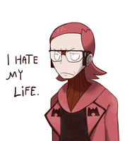 Maxie is grumpy by RayquazaQueen