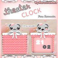 Theater Clock animado OwO by marusitaneko