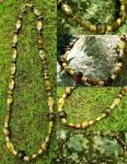 Necklace: Tiger's Eye by LissaMonster