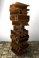Jenga Poster by Arceusomegazone