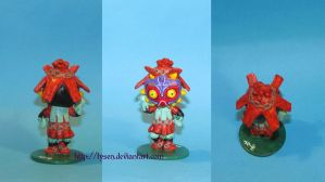 Majora's Mask Skull Kid chibi by lysen