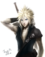 Cloud Strife by TeavyR