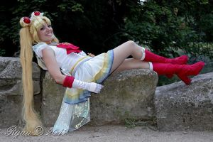 Super Sailor Moon - lazy girl by Bunnymoon-Cosplay