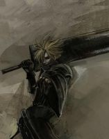FF7 Cloud by Gold-copper