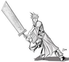 Cloud Strife by Supajoe